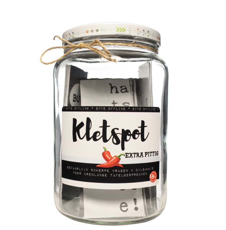 Kletspot EXTRA PITTIG