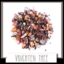 Losse thee met pure vruchten. Ook lekker als ijsthee voor jong en oud