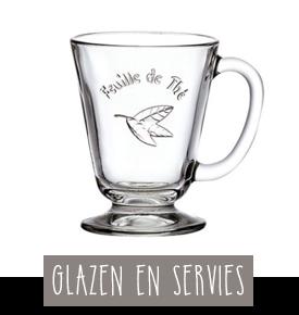 Glazen en servies bonappethee