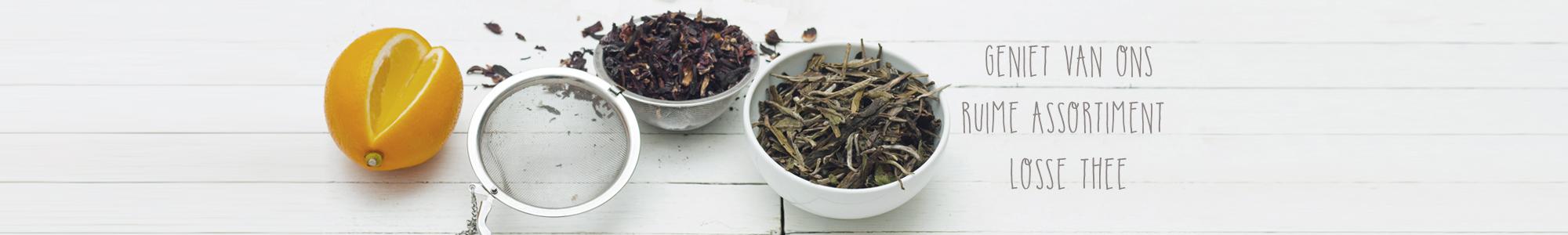 Geniet van onze losse thee!