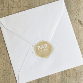 Envelop 12x12cm - wit
