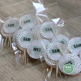 Geboortekaartje Sam