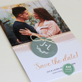 Save the date Jos & Laura