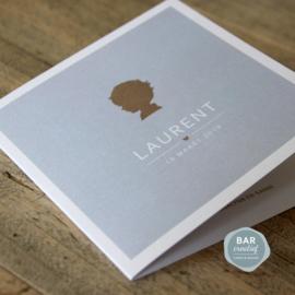 Geboortekaartje Laurent