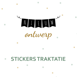 Stickers traktatie