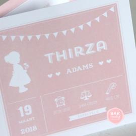 Geboortekaartje Thirza