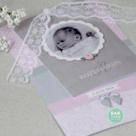 Geboortekaartje Rozemarijn