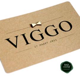 Geboortekaartje Viggo