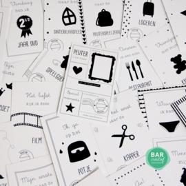 Milestone cards - Peuter