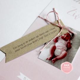 Geboortekaartje Ziva