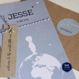 Geboortekaartje Jesse