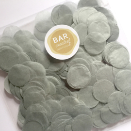 Confetti zilvergrijs
