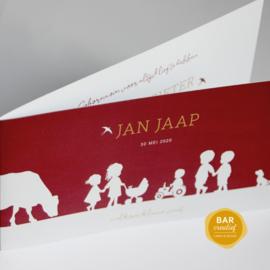 Geboortekaartje Jan Jaap