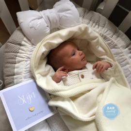 Geboortekaartje Stijn