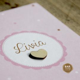 Geboortekaartje Livia