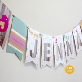 Geboortekaartje Jenna