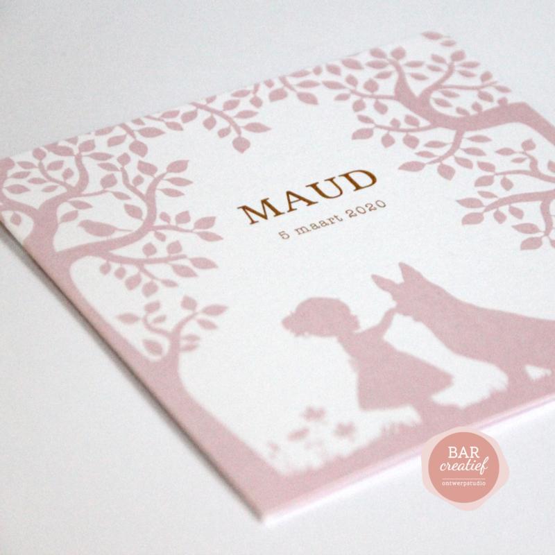 Geboortekaartje Maud