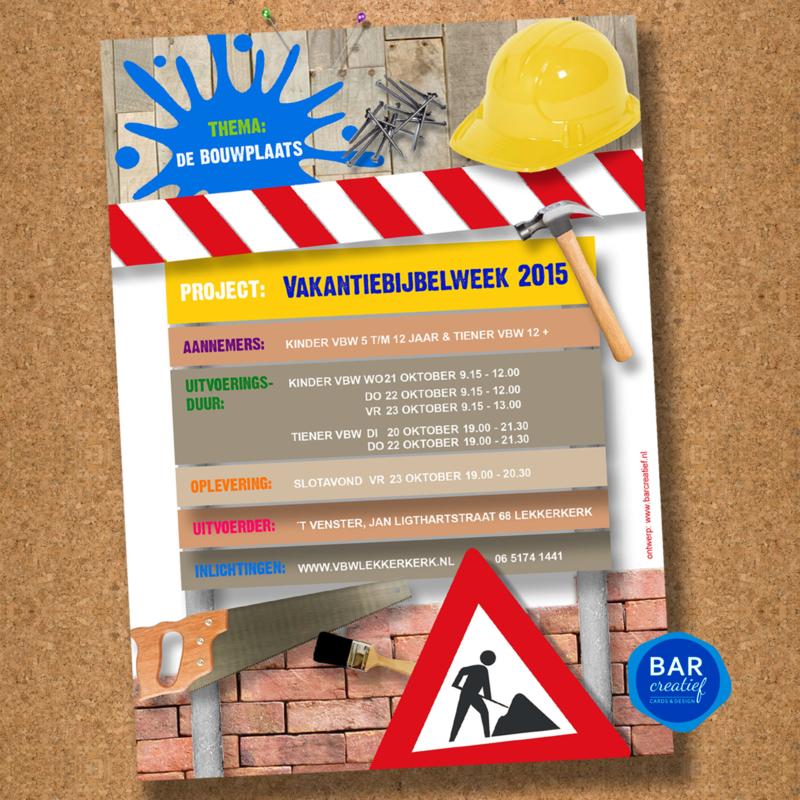 Posters en uitnodigingen VBW 2015