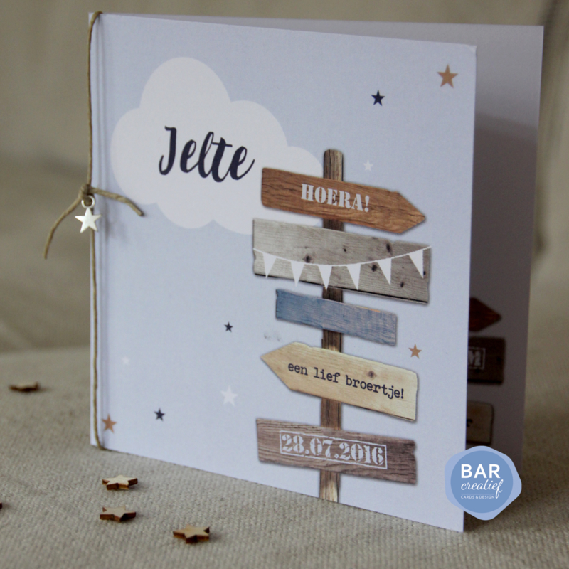 Geboortekaartje Jelte