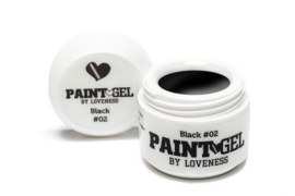 Paint Gel by #LVS Black (02) 5gr