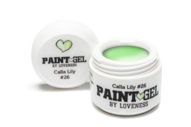 Paint Gel by #LVS Calla Lily (26) 5ml