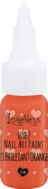 Nail Art Paint 13 Brilliant Orange 15ml