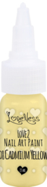 Nail Art Paint 08 Cadmium Yellow 15ml