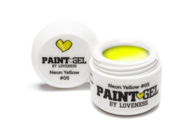 Paint Gel by #LVS Neon Yellow (05) 5gr