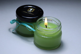 Maria Mancini Spa Candle Green