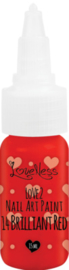 Nail Art Paint 14 Brilliant Red 15ml