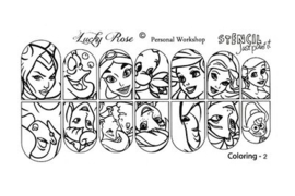 Disney Stencil 2 by #LVS