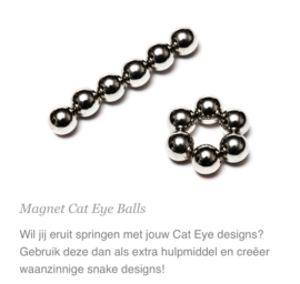 Cateye Magneet Balls 5pc