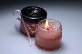 Madame De Maintenan Spa Candle Pink