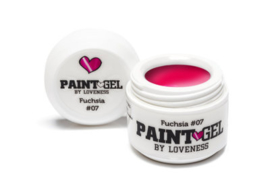 Paint Gel by #LVS Fushia (07) 5gr