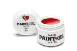 Paint Gel by #LVS Red (03) 5gr