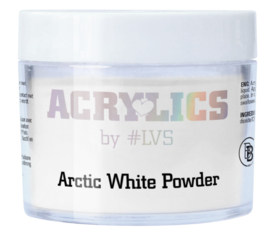 Acrylic Powder Arctic White by #LVS