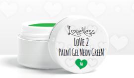 Love 2 Paint Gel Neon Green 7gr