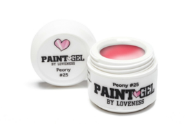 Paint Gel by #LVS Peony (25) 5ml