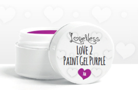 Love 2 Paint Gel Purple 7gr