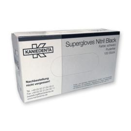 Black Nitril Supergloves S