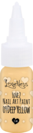 Nail Art Paint 09 Deep Yellow 15ml