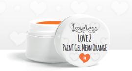 Love 2 Paint Gel Neon Orange 7gr