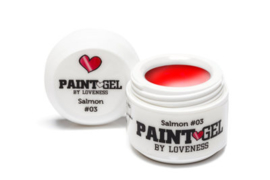 Paint Gel by #LVS Salmon (06) 5gr