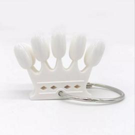 Color Pop Crown white 10pc