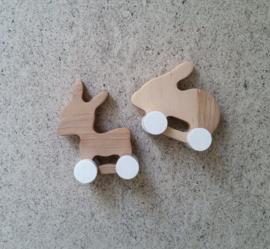 rabbit and donkey