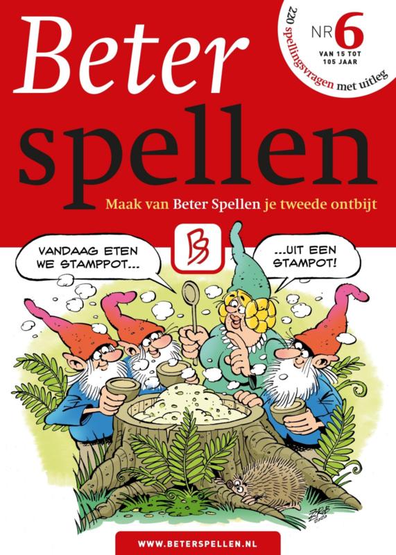 Boekje BeterSpellen 6