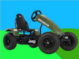 BERG Xl  Jeep Revolution pedal go-kart