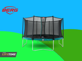 BERG Favorit  Green 3.30 m + Safety Net Comfort