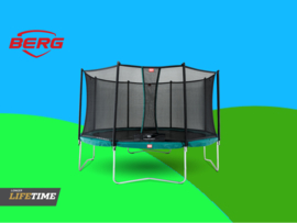 BERG Favorit Green 3.80 m + Safety Net Comfort