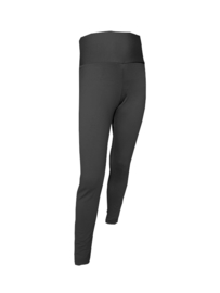 Zwarte meisjes legging met brede tailleband